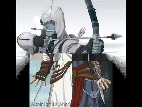 Assassin's creed tribute anime