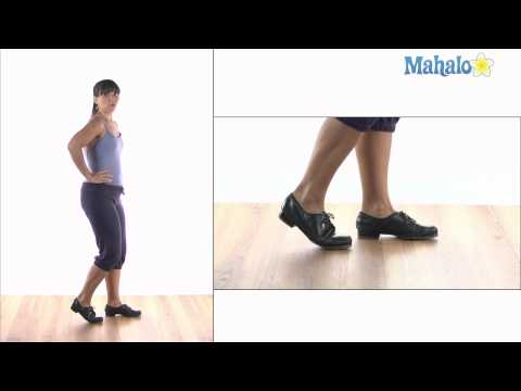 How to Do Draw Backs in Tap Dance