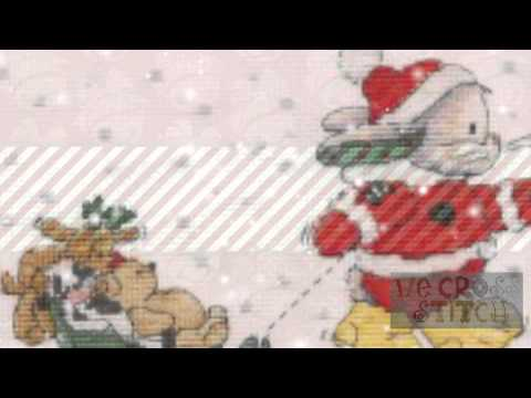 Cross Stitch Kits 2 Christmas DMC
