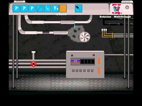Mechanic Factory Escape 1 walkthrough