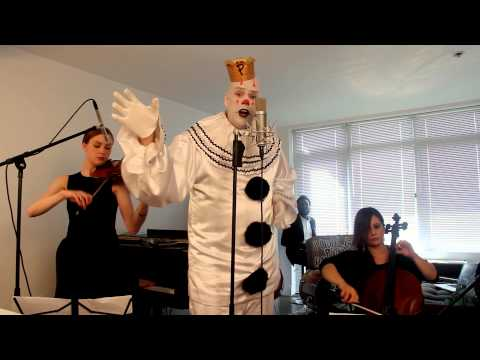 Sad Clown with the Golden Voice - Chandelier (Sia)