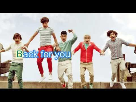 One Direction Back For You