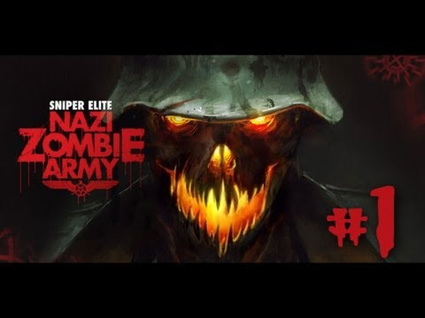 Sniper Elite: Nazi Zombie Army Co-op Часть #1.