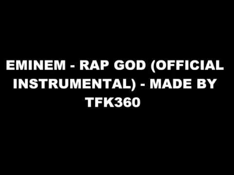 Eminem - Rap God (Official Instrumental)