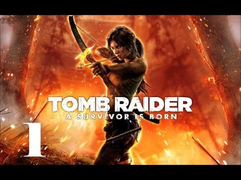 Прохождение Lara Croft:Tomb Raider 2013 - часть 1