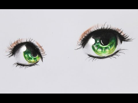 How To Draw Anime Eyes - Tutorial