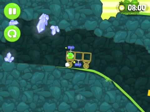 Прохождение bad piggies уровень(30) when pigs fly
