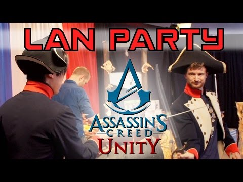Assassin's Creed Unity Launch Event - LAN Party