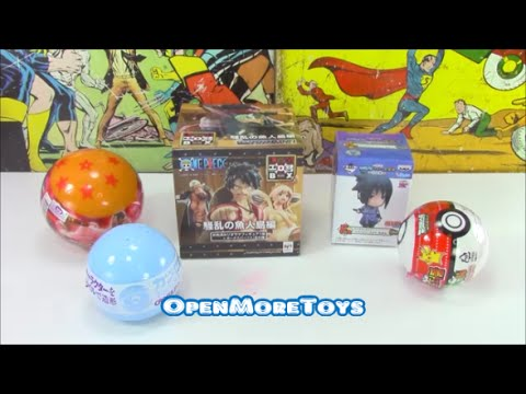 Anime Surprise Blind Box Unboxing Naruto and More