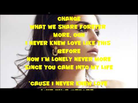 Jessie Ware - Never Knew Love Like This Before