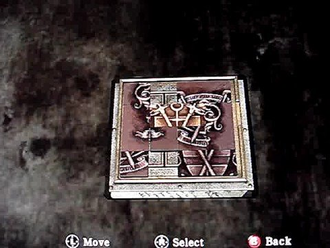 Silent Hill Homecoming Attic Puzzle