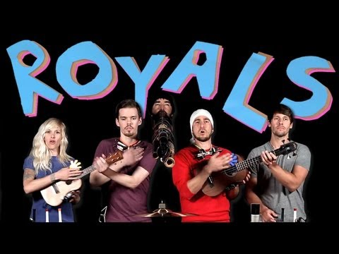 Walk off the Earth Royals (cover Lorde)