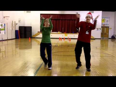 DANCE - Jingle Bell Dance (w tutorial).mp4