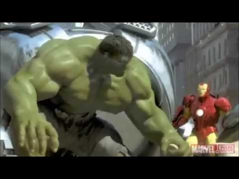 Iron Man,Spider-Man and the Hulk