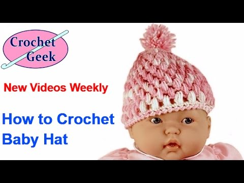 Baby Puffs Stitch Crochet Hat Crochet Geek