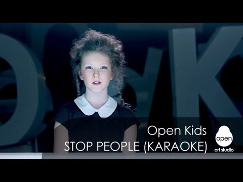 Open Kids Stop People! (Official Instrumental Version)