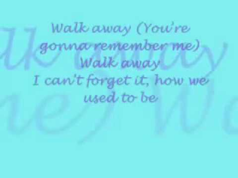 Remember The Fall - Walk Away From Me