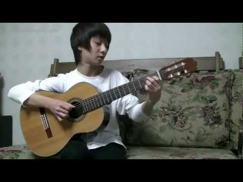 Sungha Jung Cancion Del Mariachi (Antonio Banderas guitar cover)