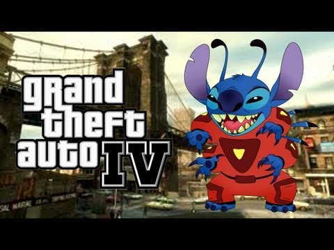 Stitch Plays GTA IV: First Date