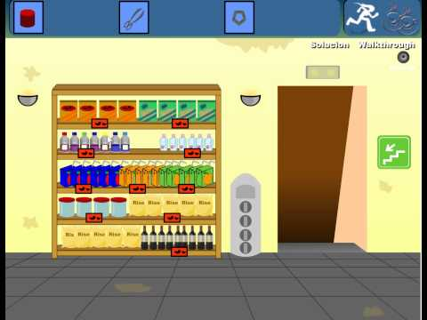 Super Market Escape 2 Walkthrough