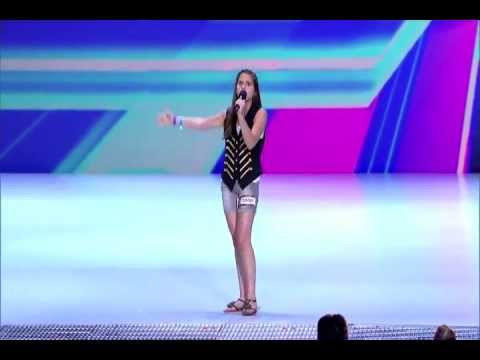"Meet Carly Rose Sonenclar (cover Nina Simone's ""Feeling Good."" )"