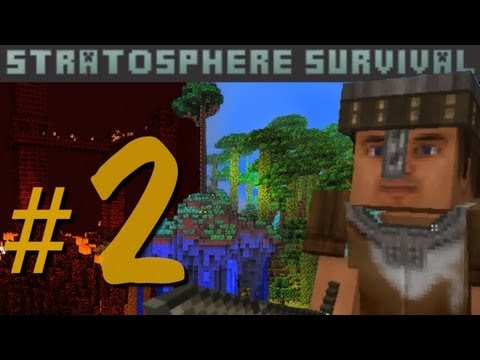Minecraft - Stratosphere Survival с Карном. Часть 2